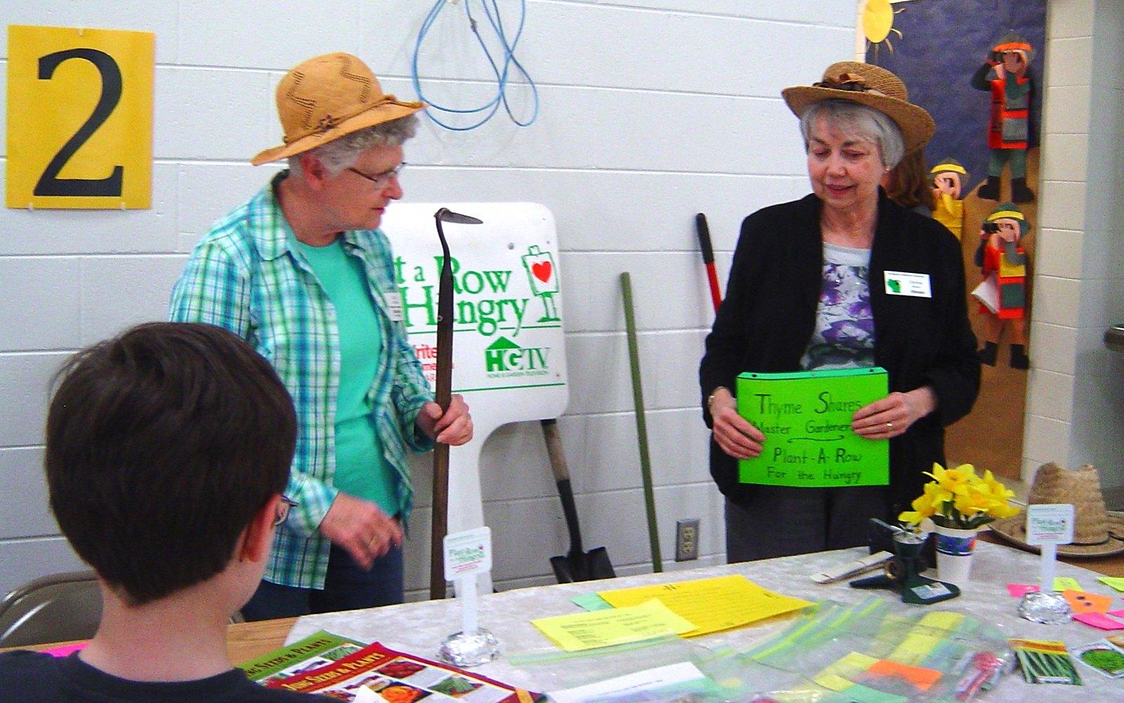 image of volunteers teaching youth