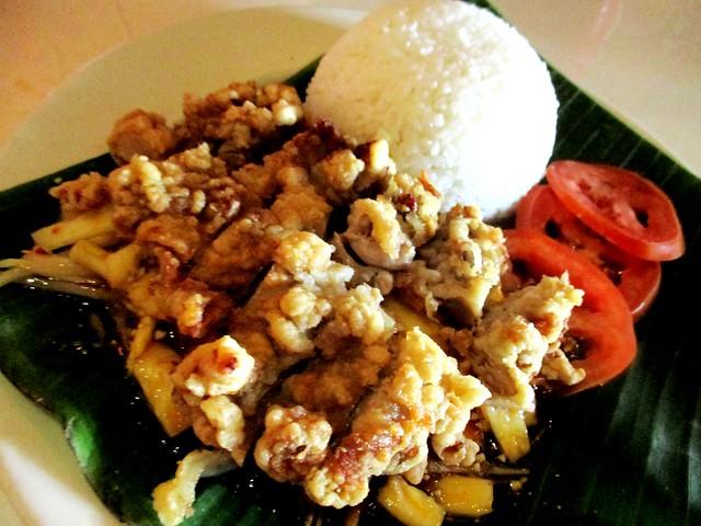 Jack Pork Pineapple chicken rice