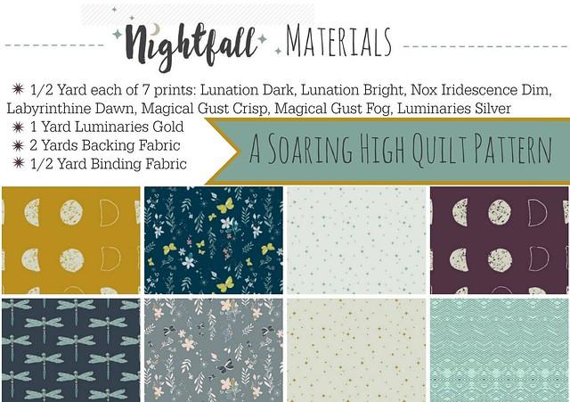 Saoring High Quilt Materials