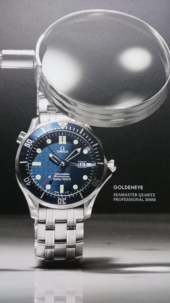 Omega Seamaster Quartz Goldeneye