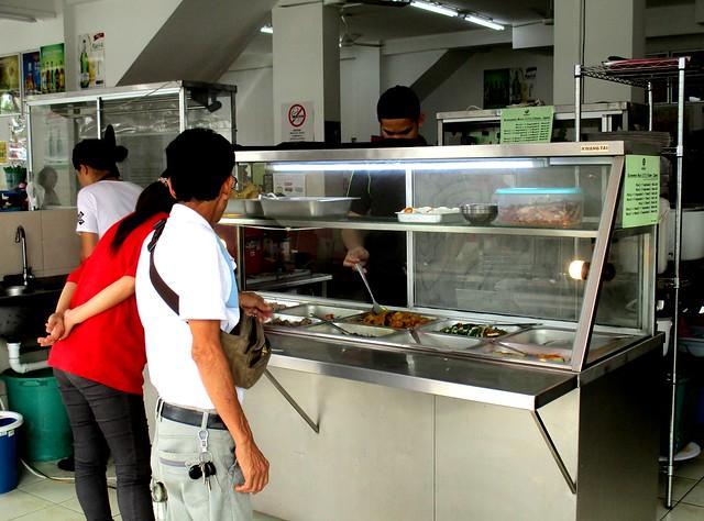 Anak Borneo nasi campur stall