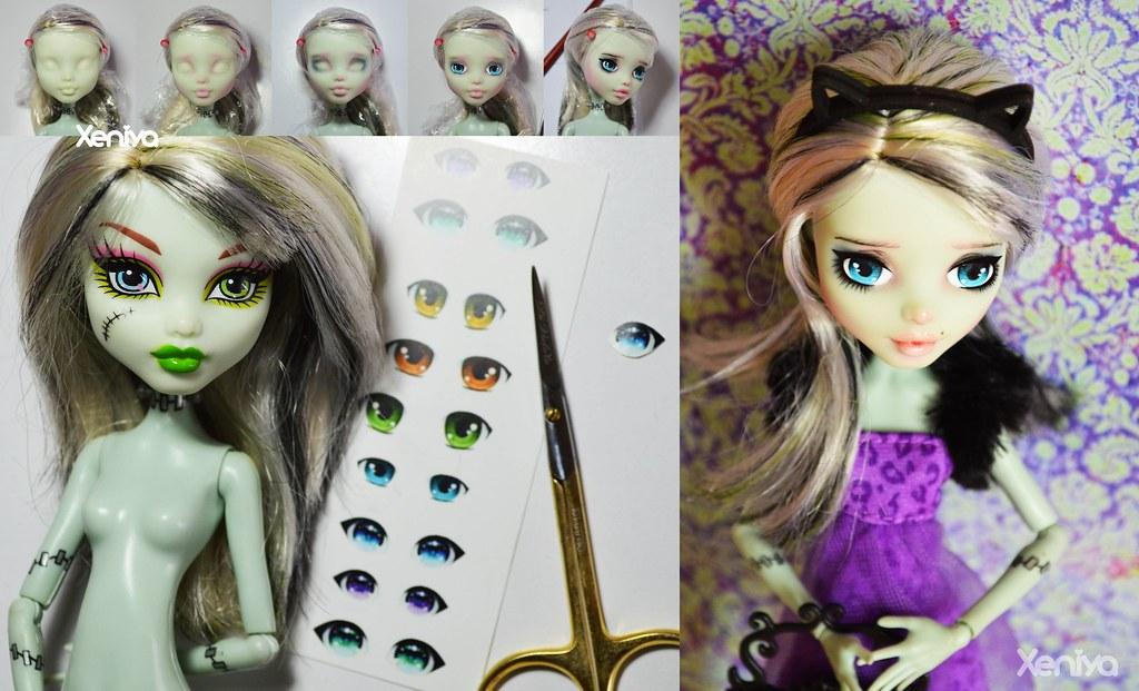 Как сделать для кукол монстер хай ооаки 844