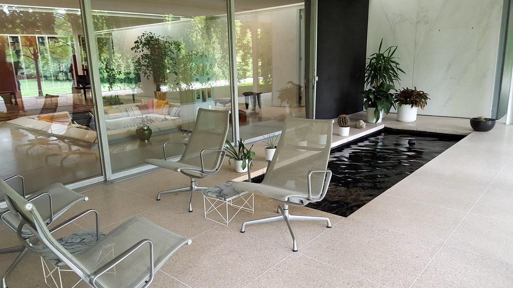 Miller House Sunken Living Room