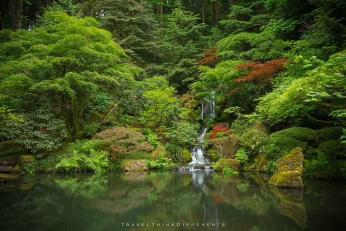 Japanese Garden Portland Or Flickr Photo Sharing