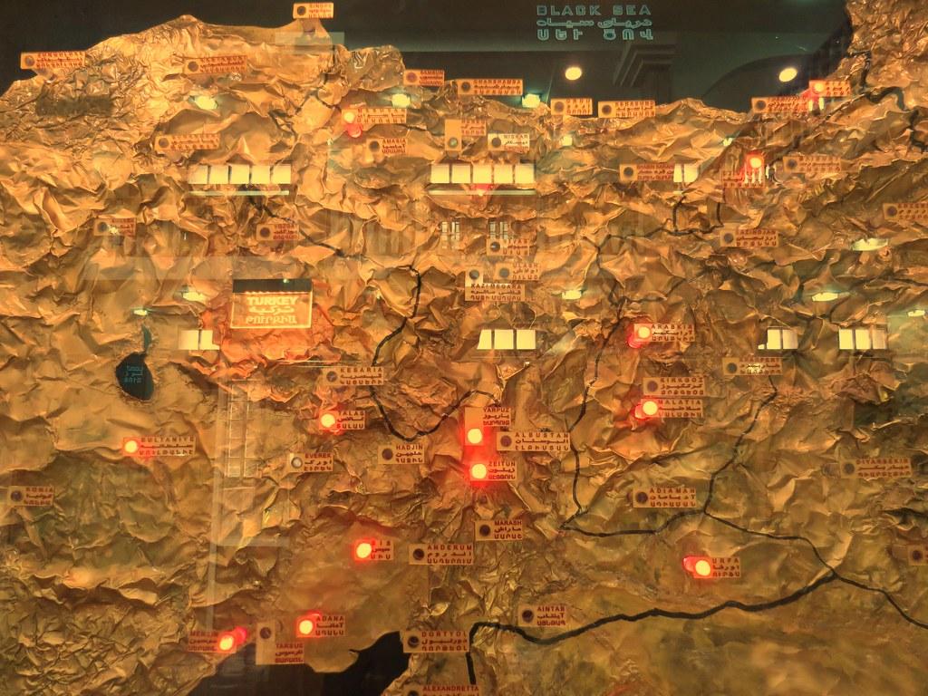 在伊朗看到的土耳其地圖