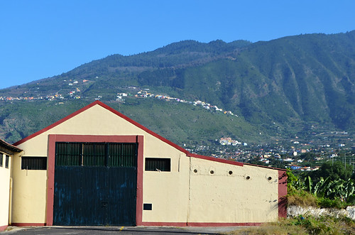 Banana warehouse outside Puerto de la Cruz, Tenerife