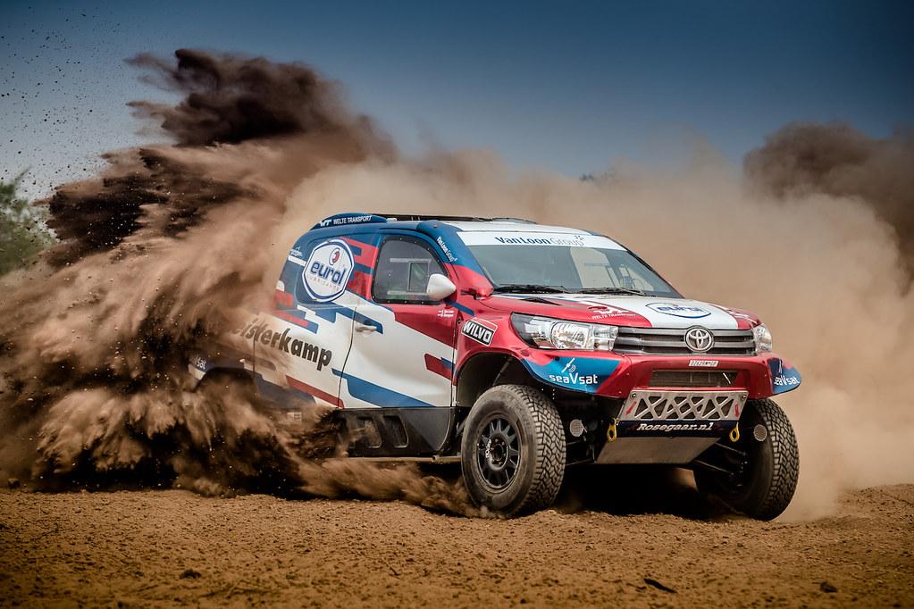 Van Loon Racing gaat genieten tijdens het grootste Dakar-evenement van Nederland