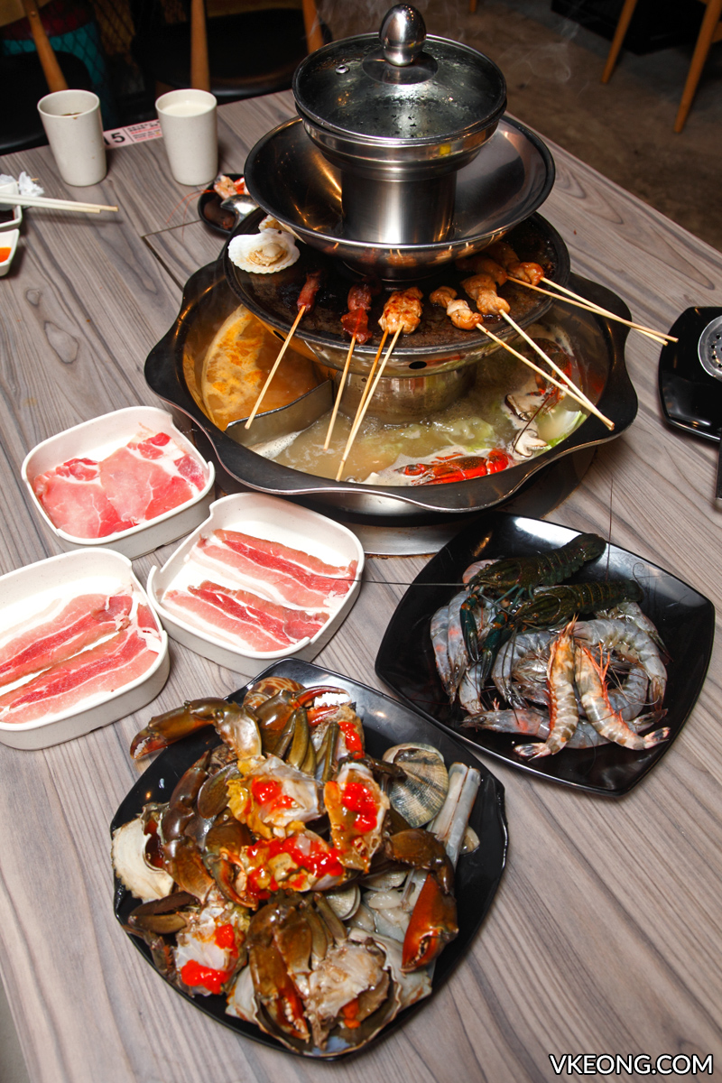 Oppa Steamboat Buffet Four Tiers