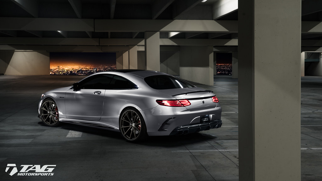 Mercedes S63 Amg Coupe >> HRE Wheels | Riding in Style - Brabus S63 AMG Coupe with ...