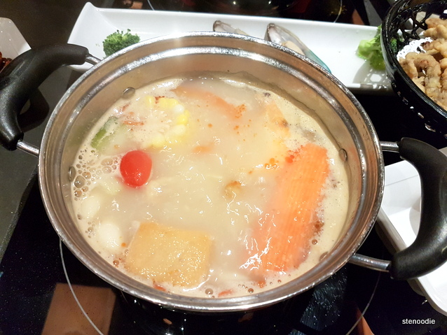 Pork bone soup base