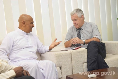 New Representative for UNICEF in Sri Lanka calls on Governor