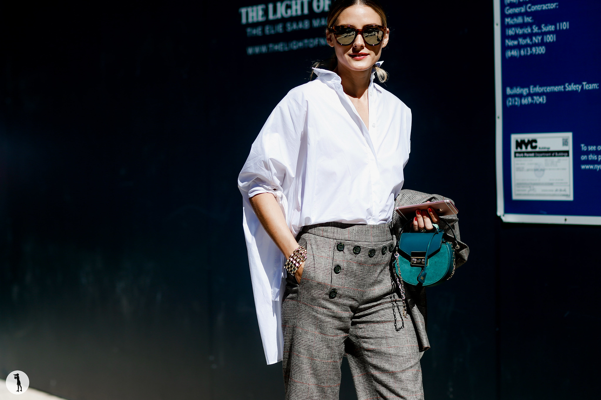 Olivia Palermo - New York Fashion Week SS17 (7)