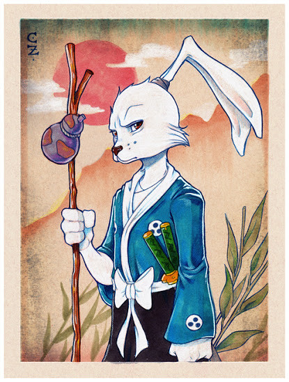 Usagi Yojimbo by Chrissie Zullo