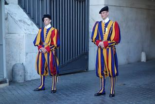 Guarda Suica, Vaticano