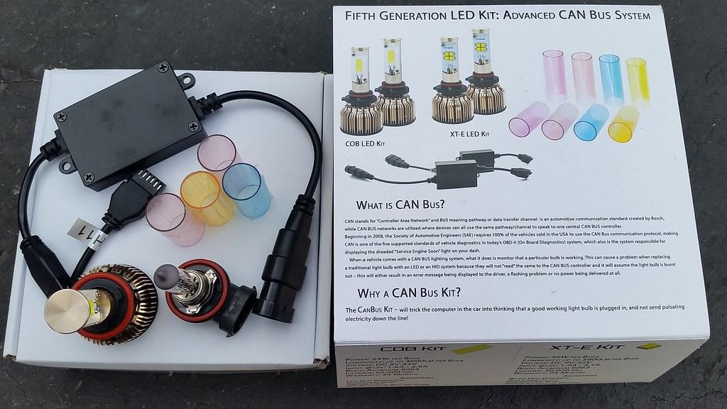 LED Fog and Tail Light Bulbs!