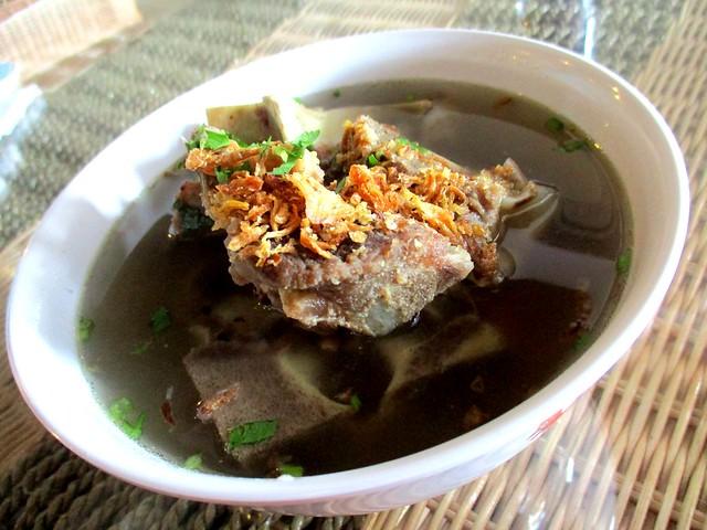 Ayam Penyet Ria, Sibu sup tulang