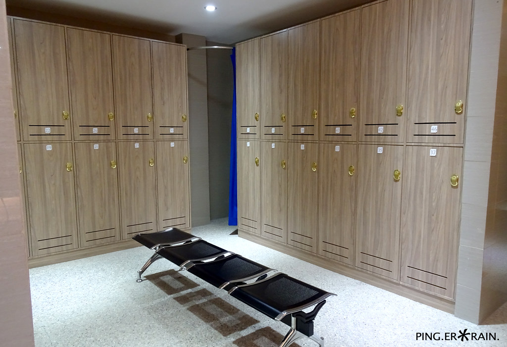 Changing Rooms and Lockers