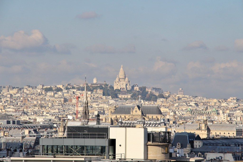 Panthéon, amazing views of Paris