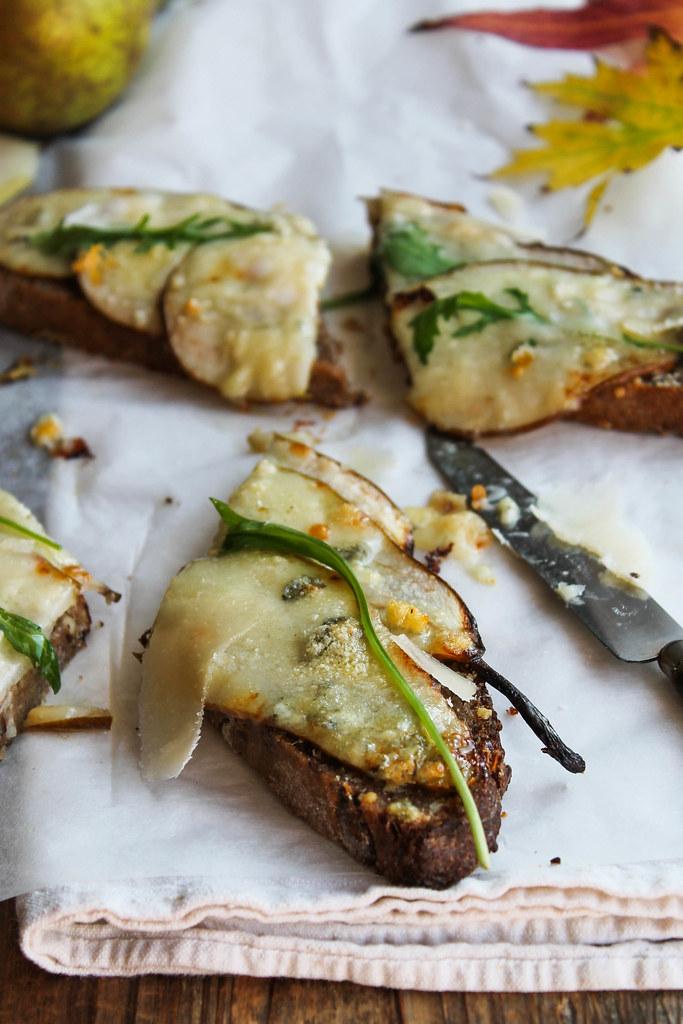 Tartine fromage roquefort
