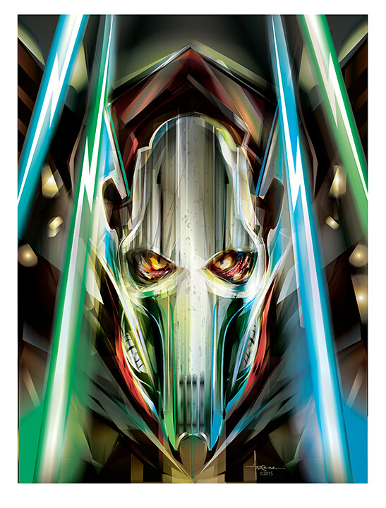 Star Wars: Adversaries By Orlando Arocena - General Grievous