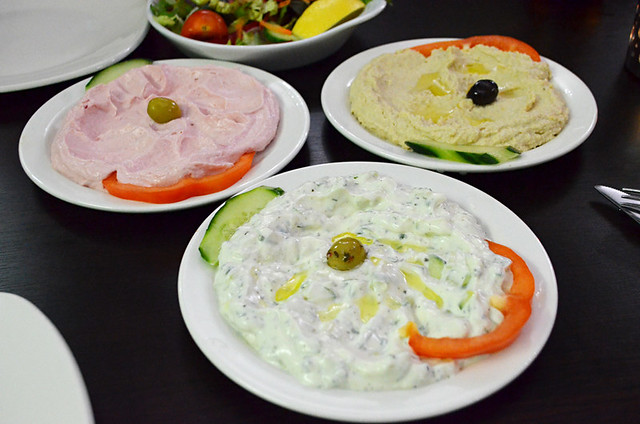Turkish dips, Sefa, Greenwich, London, England, Britain