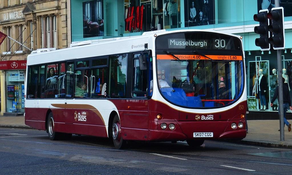 Lothian Buses: 150 / SK07CGG | Lothian Buses' Longstone-base… | Flickr