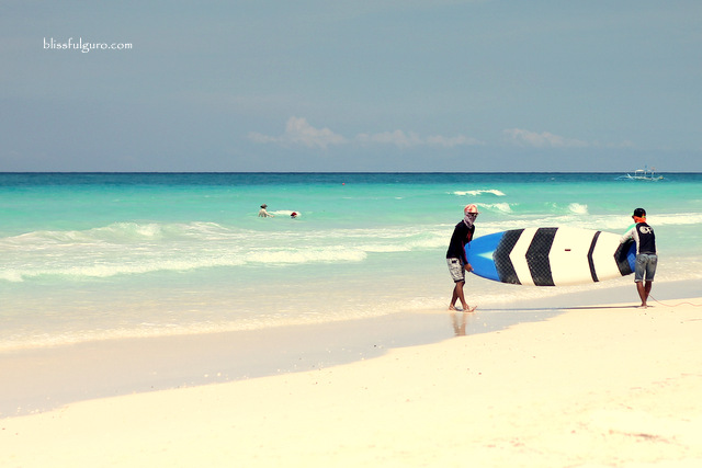 Boracay White Beach Surfing