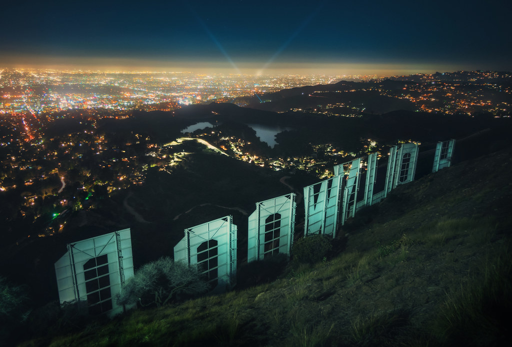 Sneaking Back Behind The Hollywood Sign | I'll be forever ...