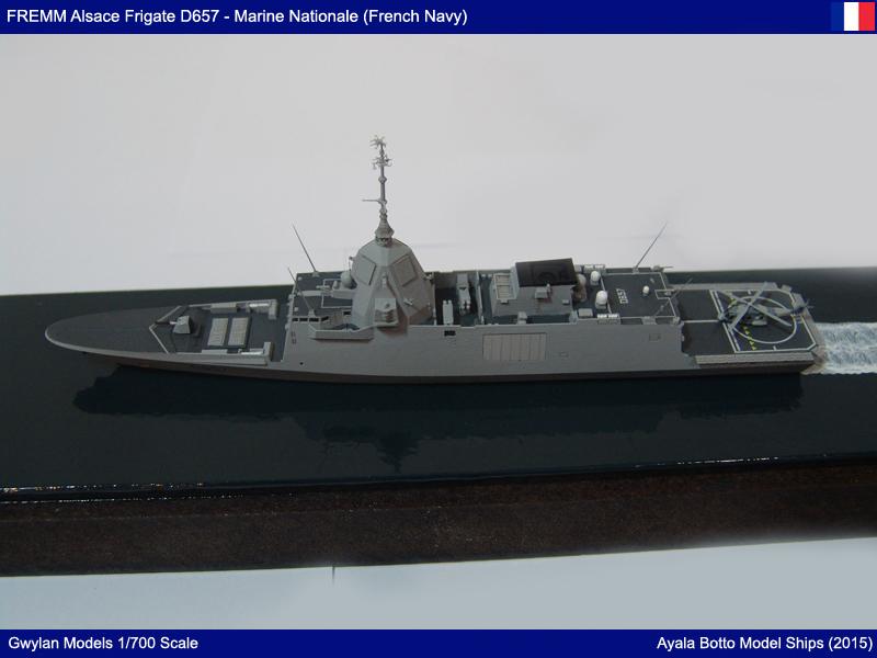FREMM Alsace D657 ER FREDA AAW Frégate Gwylan Models 1/700 23805719420_c471bba96a_o