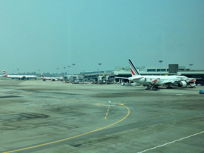 Review Of Cathay Pacific Flight From Singapore To Hong