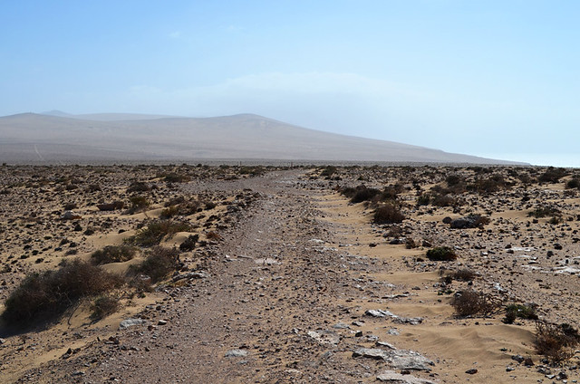 Path to nowhere, Jandia, Fuerteventura