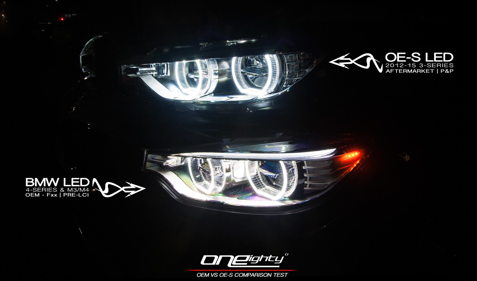 led headlights vs xenon bmw 4 series coronas on xenon vs led headlights depo 04 06 bmw e46 2d. Black Bedroom Furniture Sets. Home Design Ideas