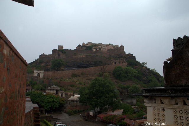 Kumbhalgarh Fort , Palace on hill