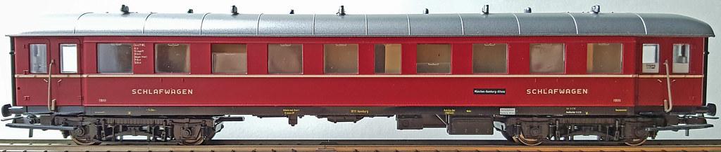 Behelfsschlafwagen DSG Sachsenmodelle/ROCO