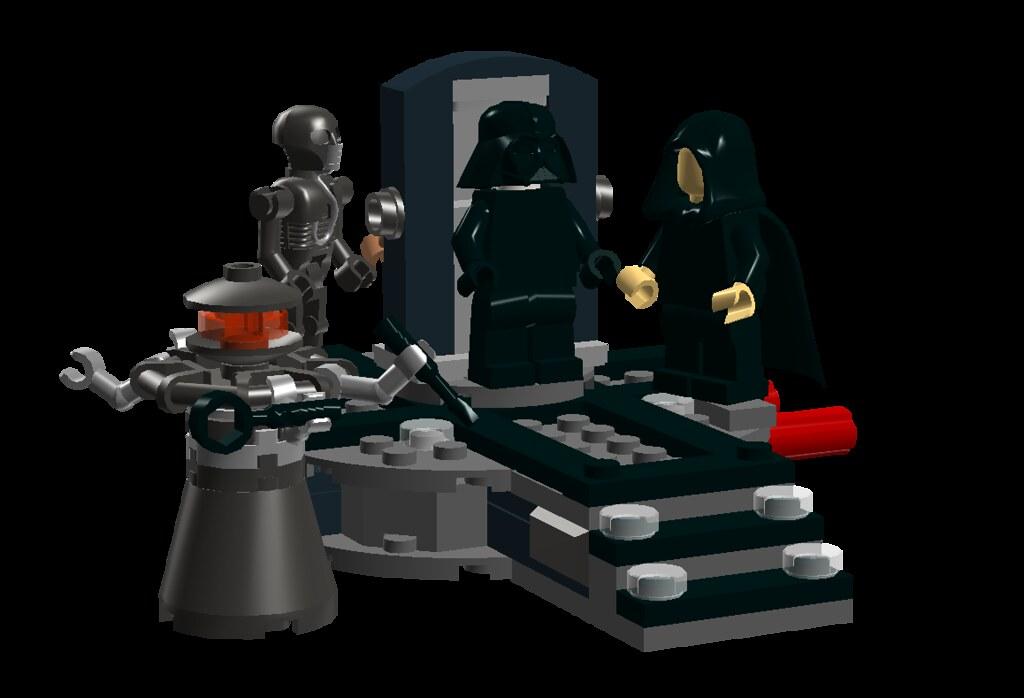 Ldd Moc Darth Vader Transformation Lego Star Wars Eurobricks Forums