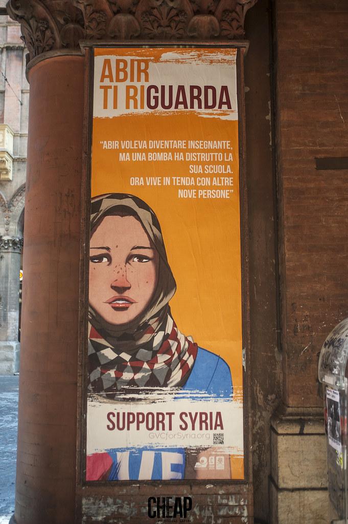 Support Syria - la nuova campagna di CHEAP per GVC