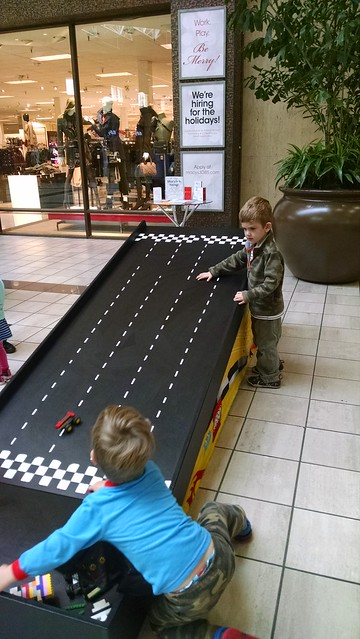 Racing Lego Car
