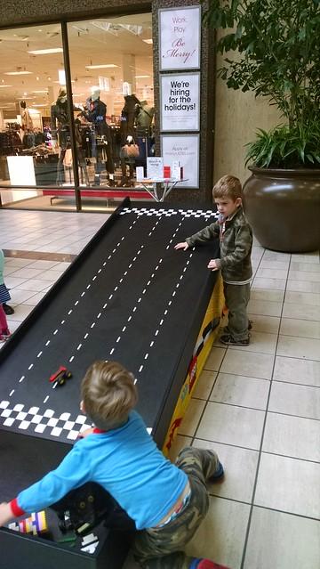 Racing Lego Car
