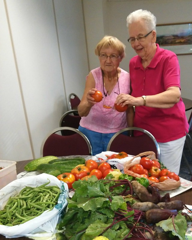 image of women with vegetables