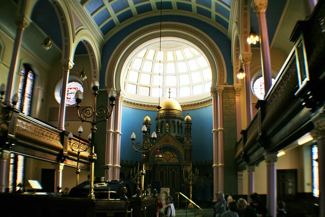 Garnethill Synagogue, Glasgow, Scotland.