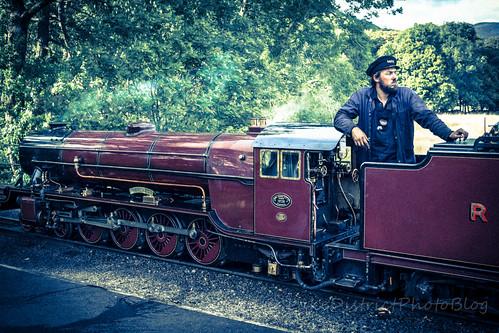 英国 イギリス 湖水地方 蒸気機関車 スチームエンジン ミニ