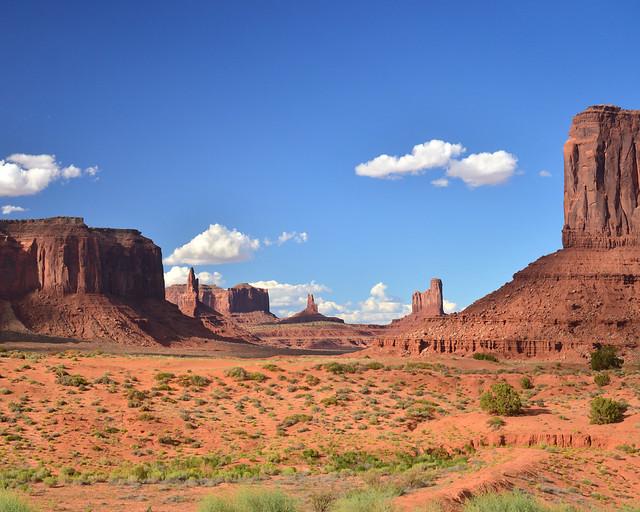 Parque Nacional de Monument Valley, de los lugares más maravillosos que ver en la Costa Oeste de Estados Unidos