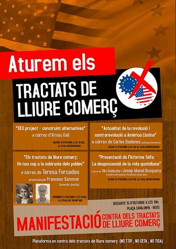 Actes contra el CETA a Reus