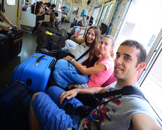 Rumbo a Hakone y sus ryokan en tren