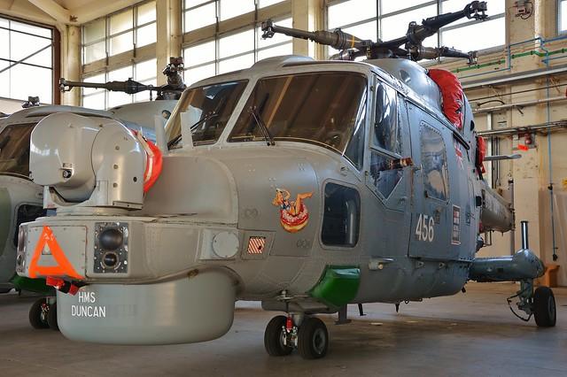 Lynx HMA.8 ZF560 456 HMS Duncan