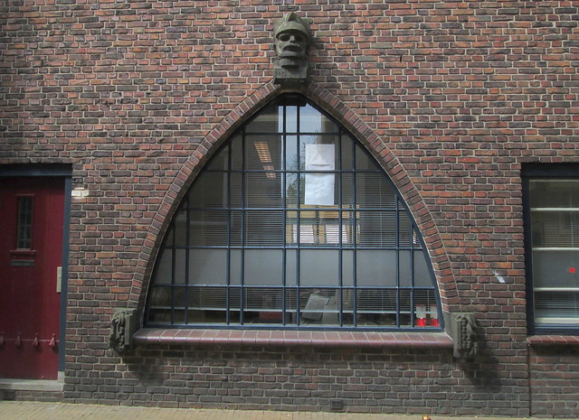 Art Deco Cinema, Groningen, Window Arch