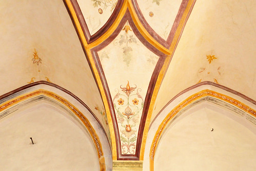 Kloster Seeon Friedhof Kirche St. Walburgis Walburgiskirche Wandmalerei Manierismus Foto Brigitte Stolle Oktober 2015