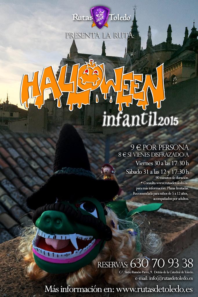 Ruta Halloween infantil en Toledo