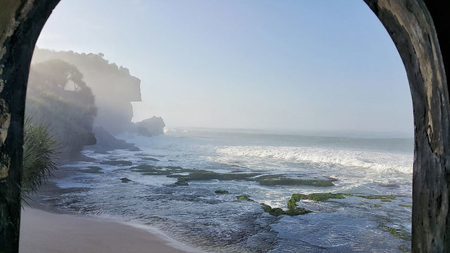 Pantai Ngobaran Beach