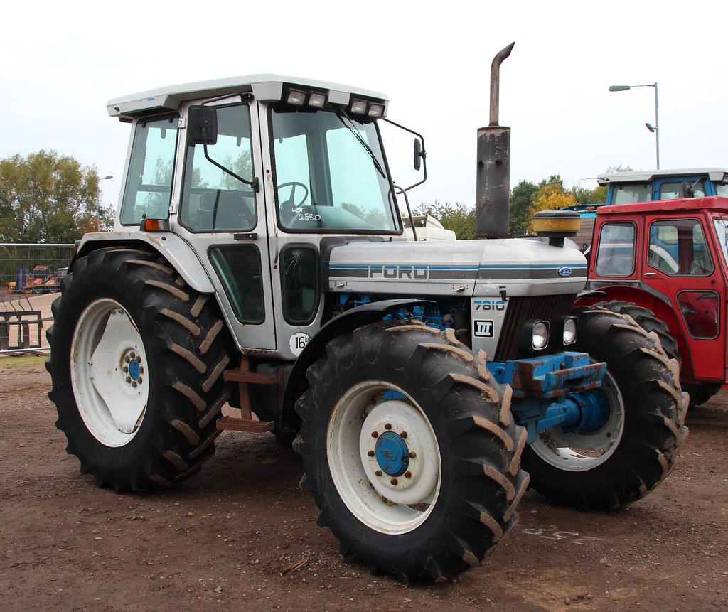 Ford 7810 Tractor : Ford iii silver jubilee wd tractor cheffins